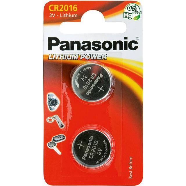 Panasonic CR2016 Compatible 2-pack