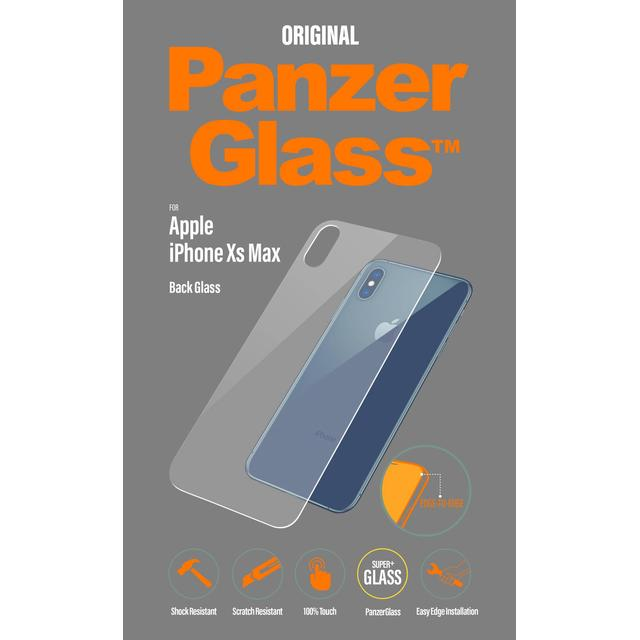 PanzerGlass Back Glass Screen Protector (iPhone XS Max)