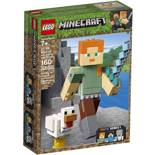 Lego Minecraft Alex BigFig with Chicken 21149