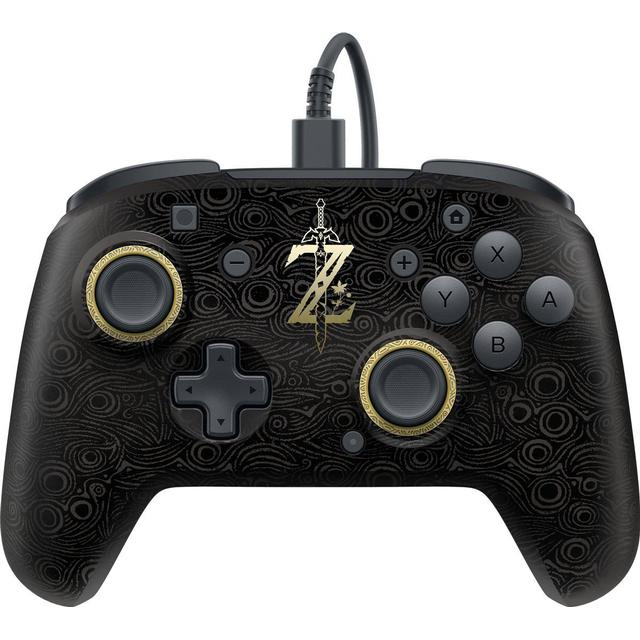 PDP Nintendo Switch Faceoff Deluxe Wired Pro Controller - Breath of the Wild Edition