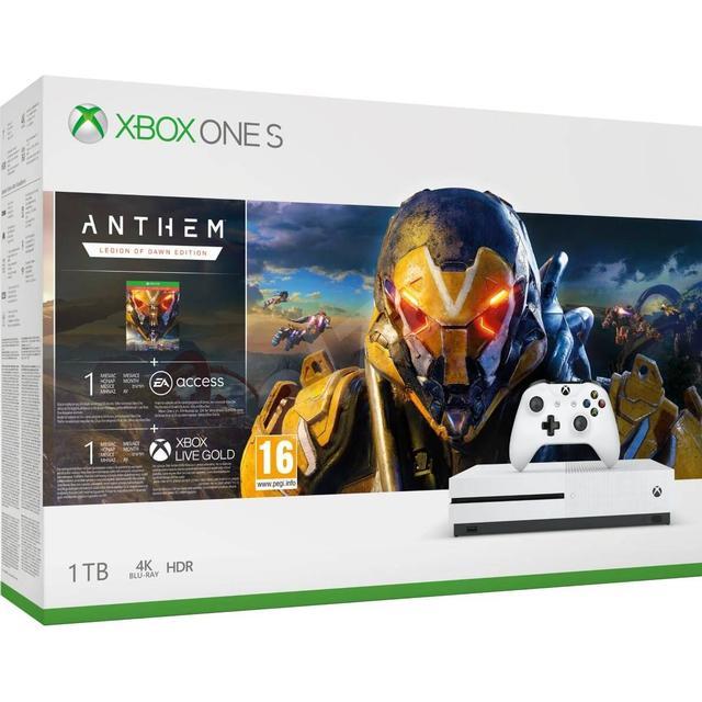 Microsoft Xbox One S 1TB - Anthem Bundle