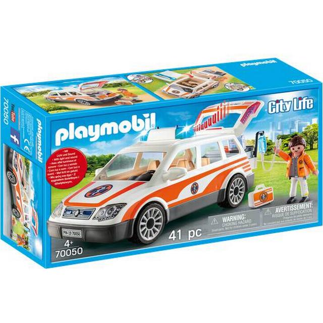 Playmobil Emergency Car with Siren 70050