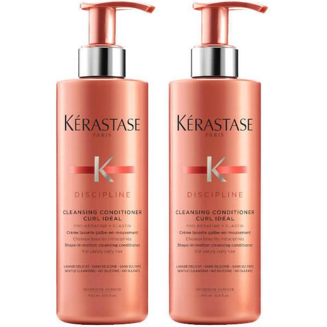 Kérastase Discipline Curl Idéal Cleansing Conditioner 400ml 2-pack