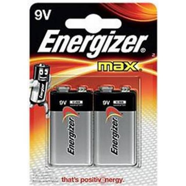 Energizer Max 9V Compatible 2-pack