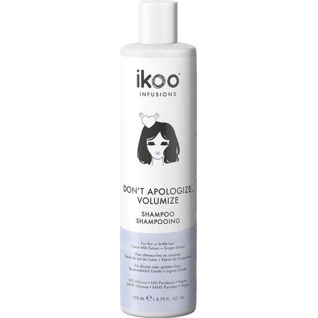 Ikoo Don't Apologize, Volumize Shampoo 250ml