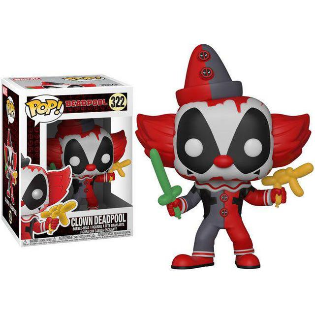 Funko Pop! Marvel Deadpool Playtime Clown