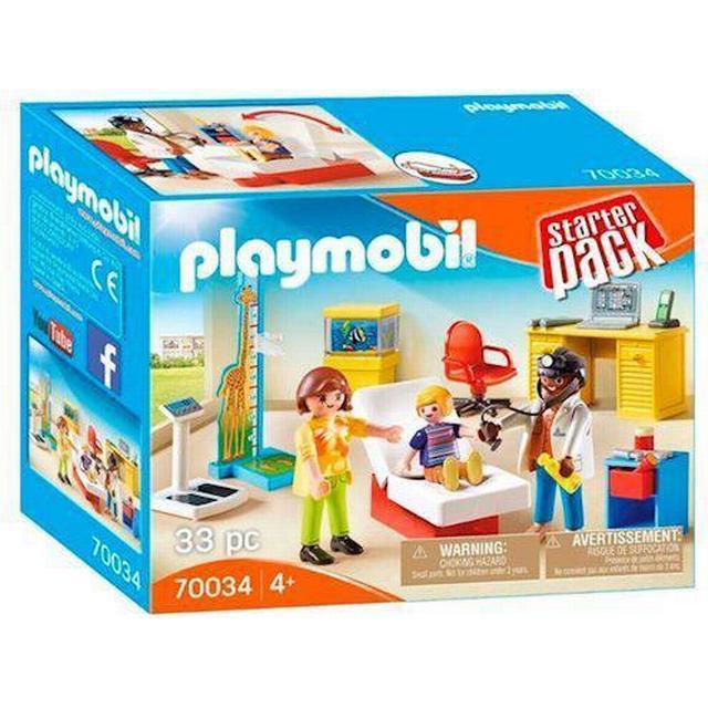 Playmobil StarterPack Pediatrician's Office 70034