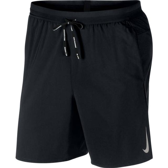 Nike Flex Stride Running Shorts Men - Black/Metallic Silver
