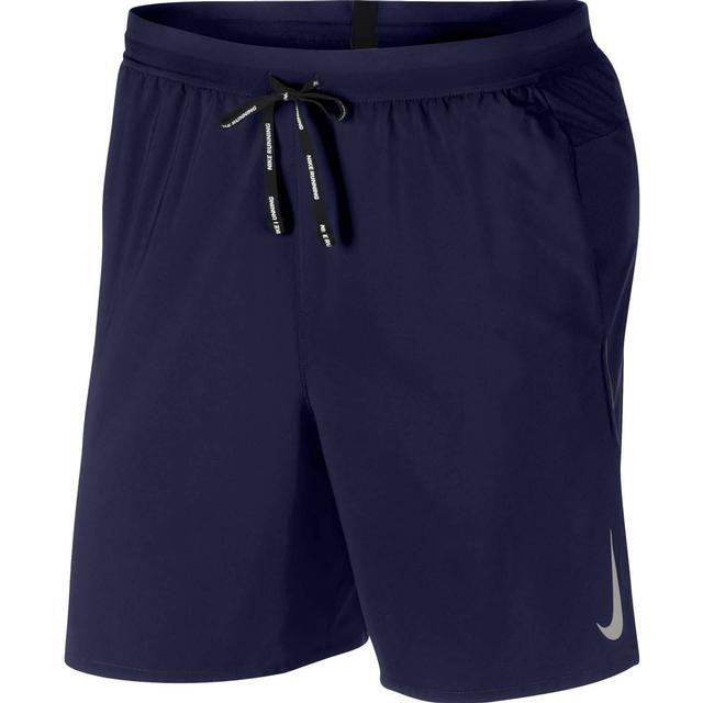 Nike Flex Stride Running Shorts Men - Blue Void/Heather/Metallic Silver