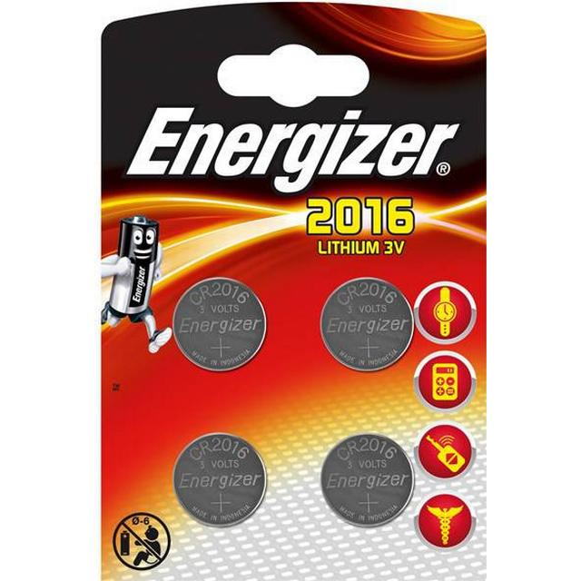 Energizer CR2016 Compatible 4-pack