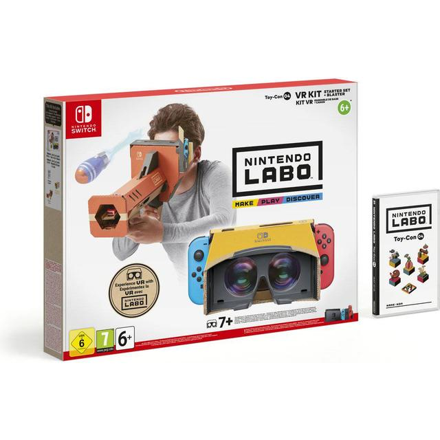 Nintendo Labo: VR Kit - Starter Set + Blaster