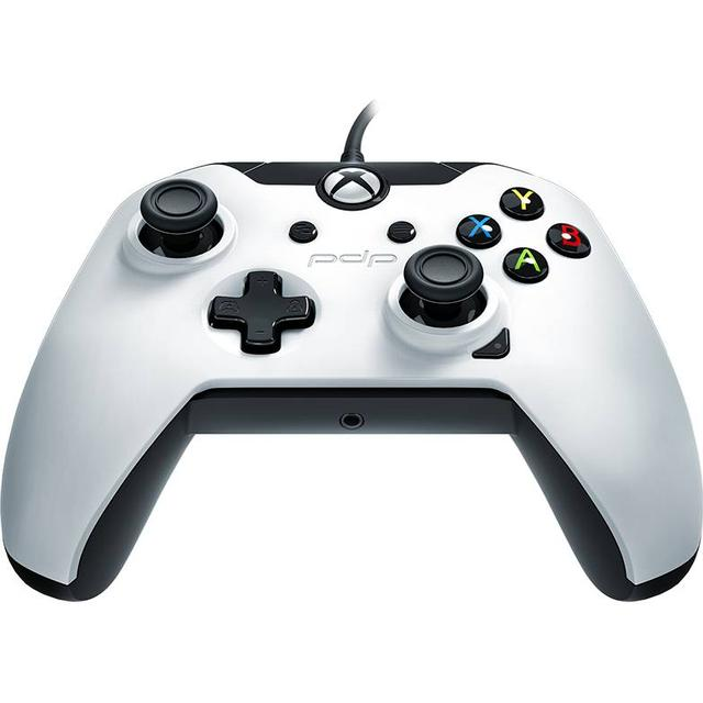 PDP Wired Controller - White (Xbox One/PC)