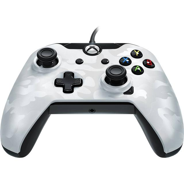 PDP Wired Controller - White Camo (Xbox One/PC)