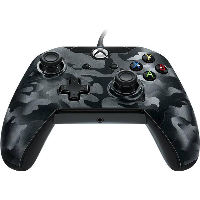 PDP Wired Controller - Black Camo (Xbox One/PC)