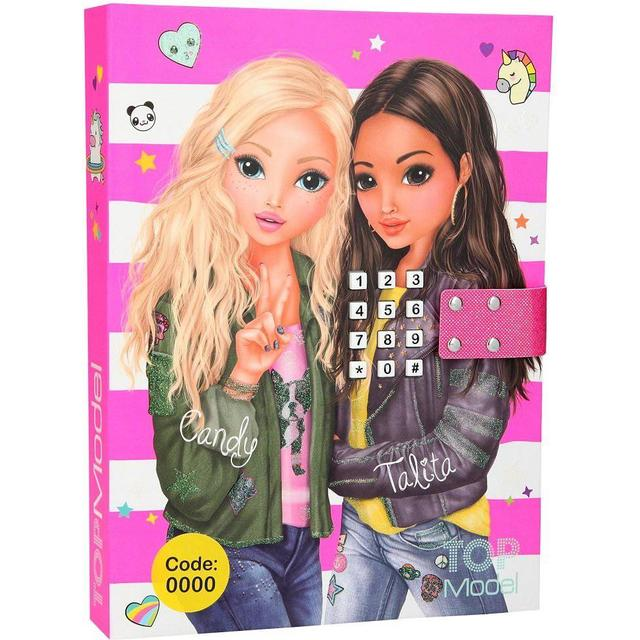 Top Model Diary with Code & Music Blue Pink