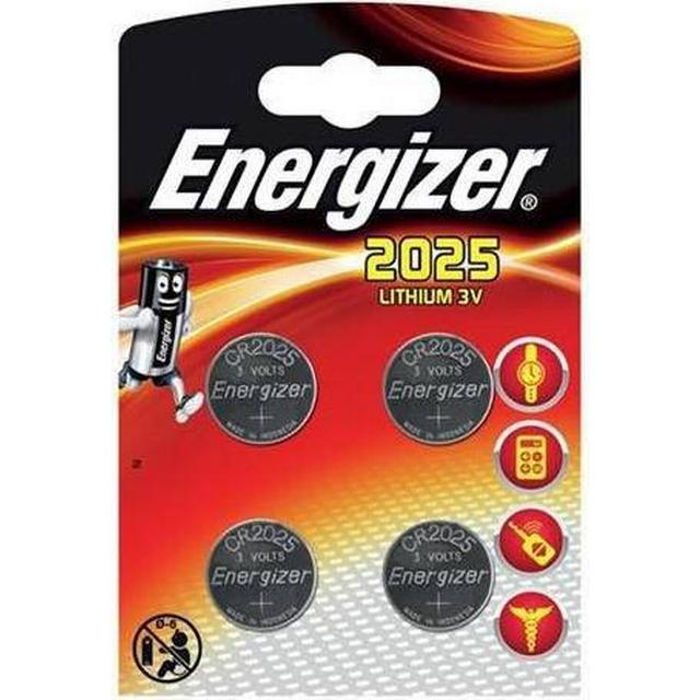 Energizer CR2025 Compatible 4-pack