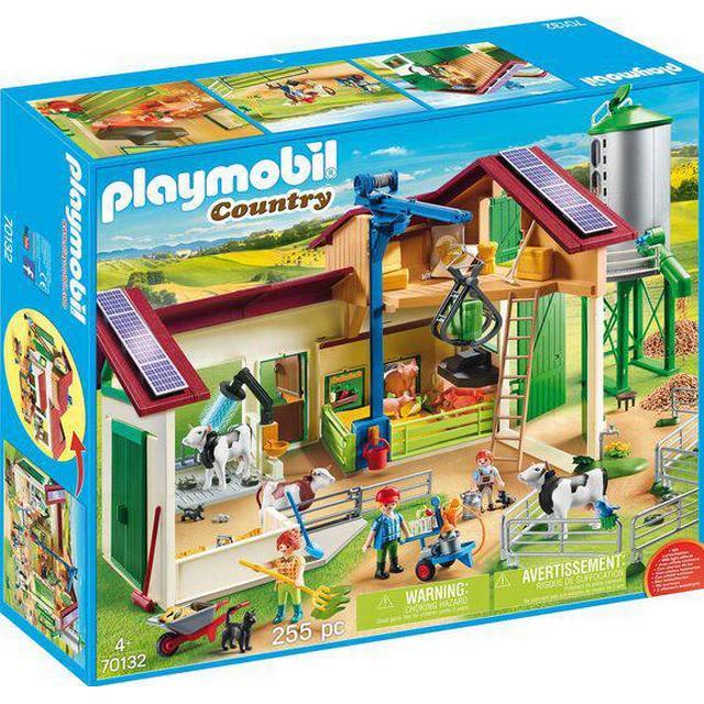 Playmobil Farm with Animals 70132