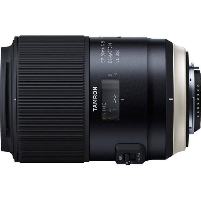 Tamron SP 90mm F/2.8 Macro 1:1 Di VC USD for Canon (Model F017)