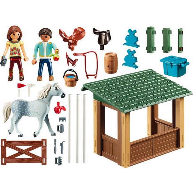 Playmobil Riding Arena with Lucky & Javier 70119