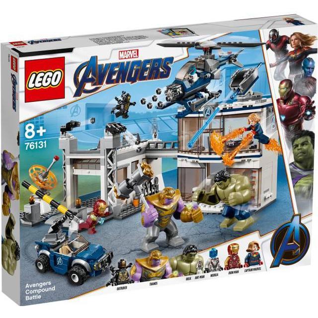 Lego Marvel Super Heroes Avengers Compound Battle 76131