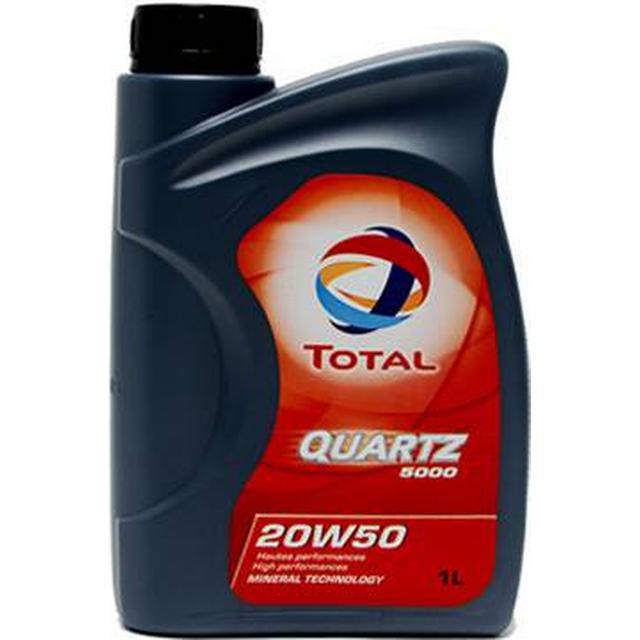 Total Quartz 5000 20W-50 1L Motor Oil
