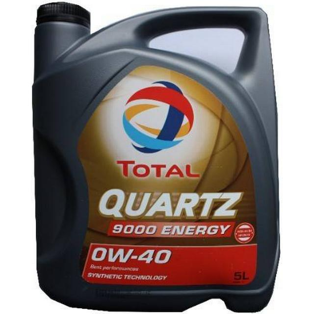Total Quartz 9000 Energy 0W-40 5L Motor Oil