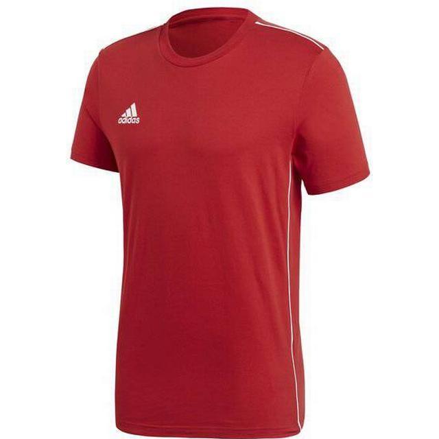 Adidas Core 18 Tee Men - Power Red/White