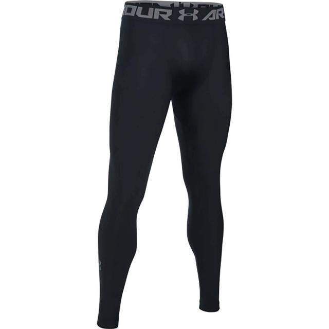 Under Armour HeatGear Armour Leggings Men - Black/Graphite