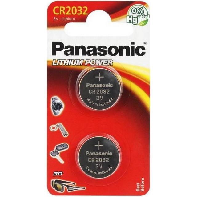 Panasonic CR2032 2-pack