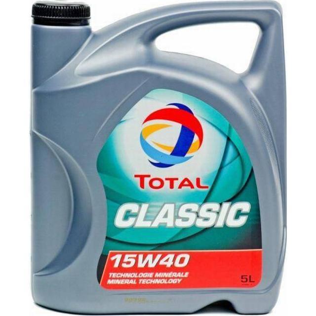 Total Classic 15W-40 5L Motor Oil
