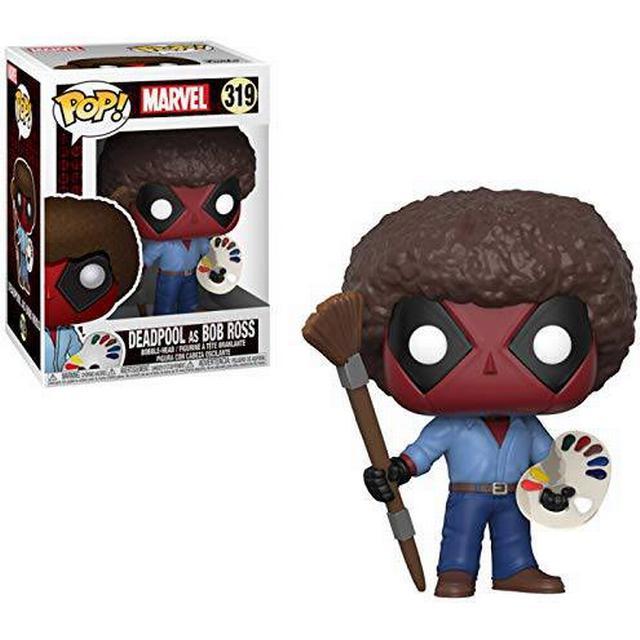 Funko Pop! Marvel Deadpool as Bob Ross