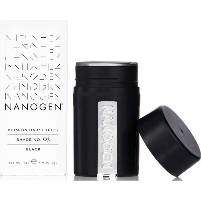 Nanogen Keratin Hair Fibres #03 Black 15g