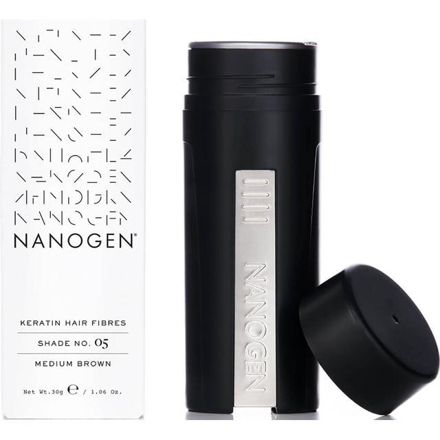 Nanogen Keratin Hair Fibres #05 Medium Brown 30g