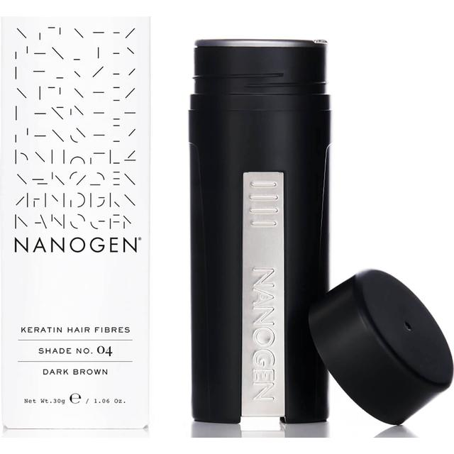 Nanogen Keratin Hair Fibres #04 Dark Brown 30g