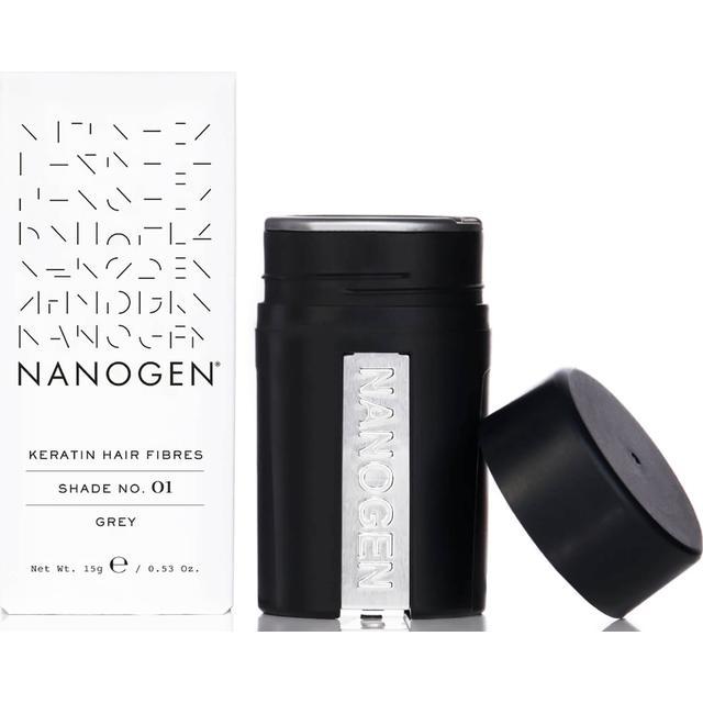 Nanogen Keratin Hair Fibres #01 Grey 15g