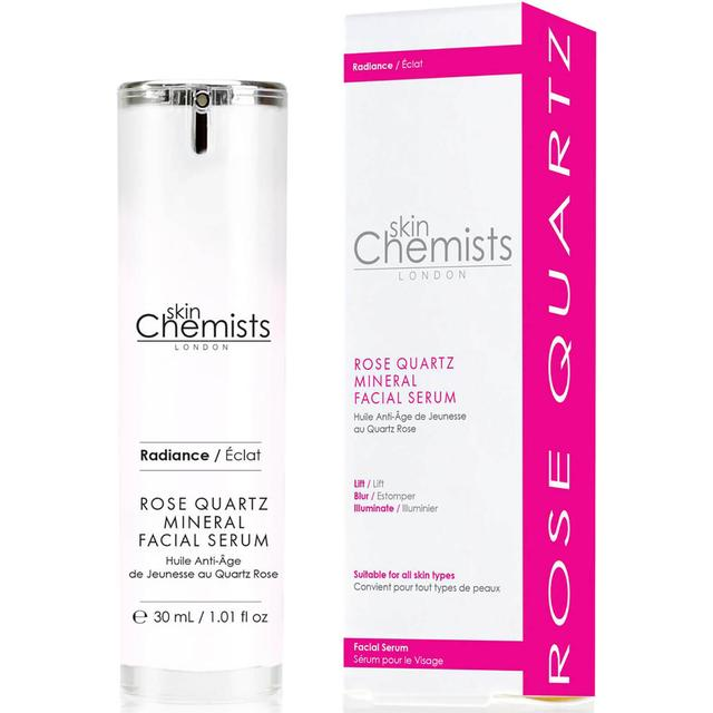 skinChemists Rose Quartz Mineral Facial Serum 30ml