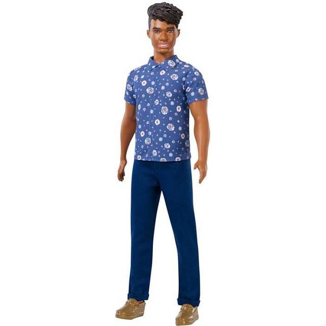 Mattel Ken Fashionistas Doll Broad with Black Hair FXL61