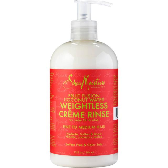 Shea Moisture Fruit Fusion Coconut Water Weightless Crème Rinse 384ml
