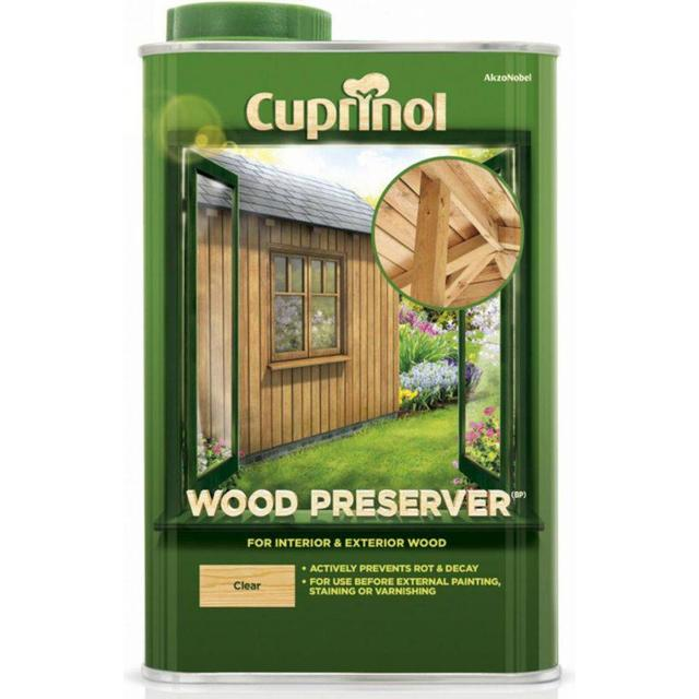 Cuprinol Wood Preserver Wood Protection Transparent 1L