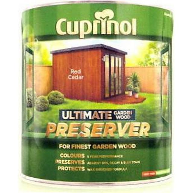 Cuprinol Ultimate Garden Wood Preserver Wood Protection Red 4L