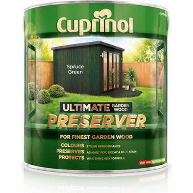 Cuprinol Ultimate Garden Wood Preserver Wood Protection Green 4L