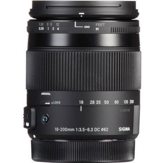 Sigma 18-200mm F3.5-6.3 DC Macro OS HSM C for Canon