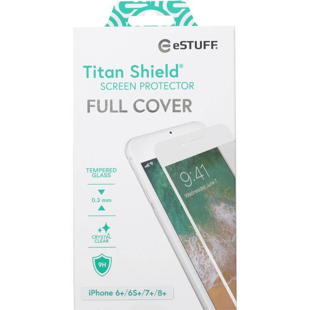 eSTUFF Titan Shield Clear Screen Protector (iPhone 6+/6S+/7+/8+)
