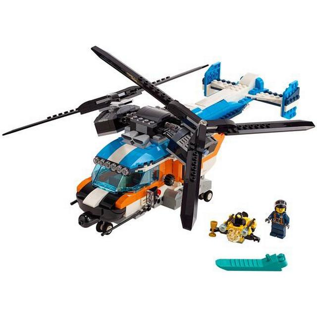 Lego Creator Twin Rotor Helicopter 31096