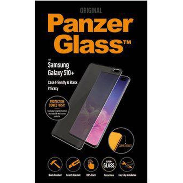 PanzerGlass Privacy Case Friendly Screen Protector (Samsung Galaxy S10+)