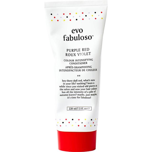 Evo Fabuloso Colour Intensifying Conditioner Purple Red 220ml