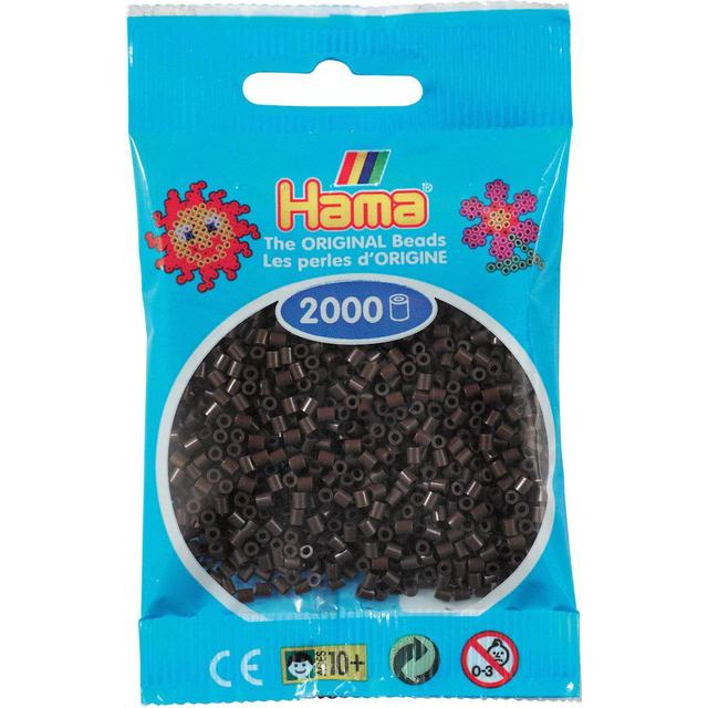 Hama Mini Beads Brown 2.5mm 501-12