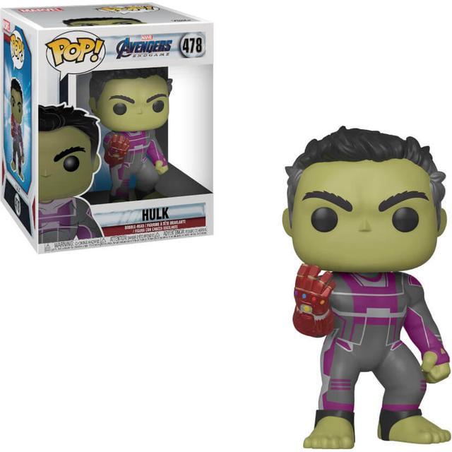 "Funko Pop! Movies Marvel Avengers Endgame Hulk with Gauntlet 6"""
