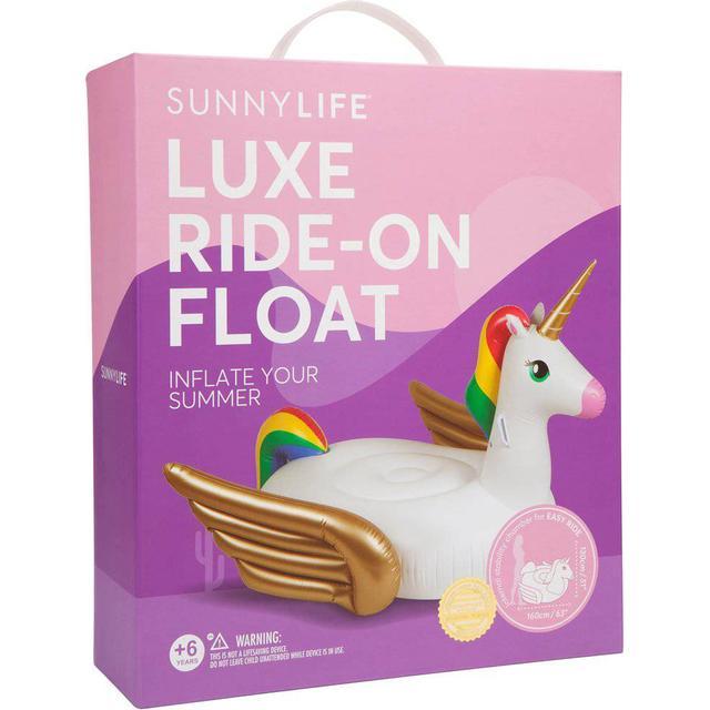 Sunnylife Luxe Ride-On Float Unicorn