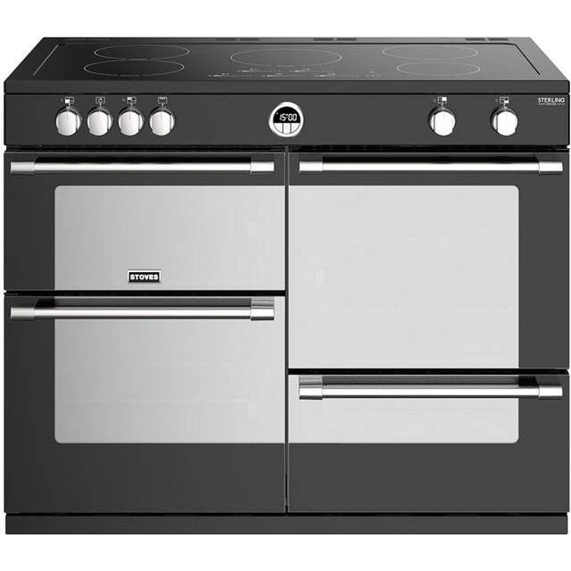 Stoves Sterling Deluxe S1100EI Black Black